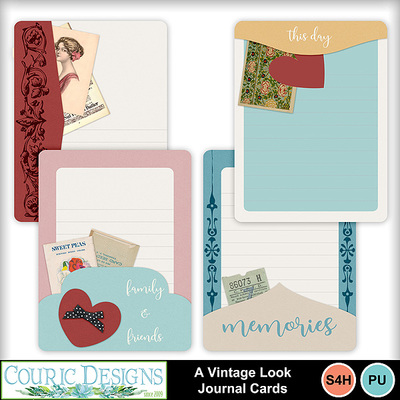 A-vintage-look-journal-cards