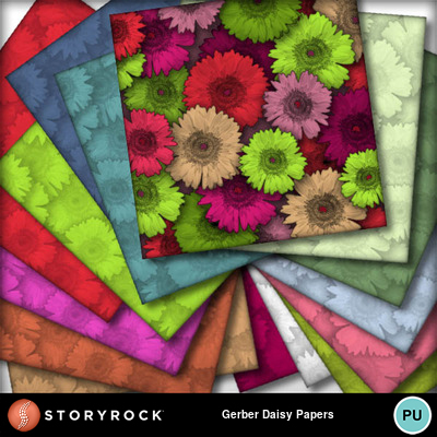 Gerber_daisy_papers