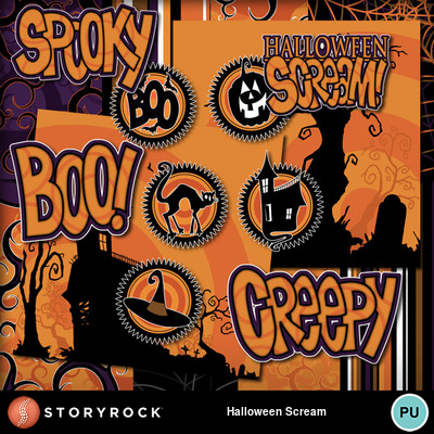 Halloween-scream
