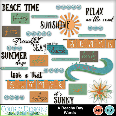 A-beachy-day-words