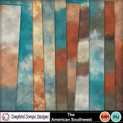 The_american_southwest_painted_backgrounds