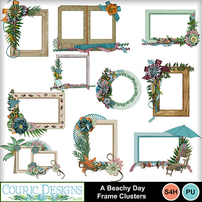 A-beachy-day-frame-clusters