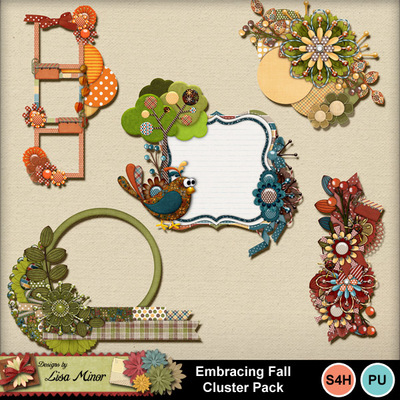 Embracingfallclusters