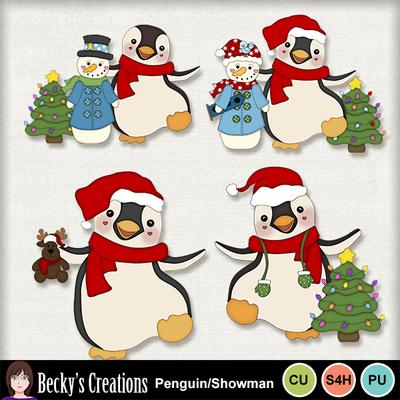 Penguin_snowman