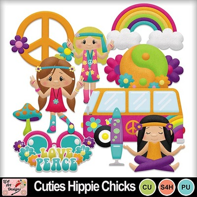 Cuties_hippie_chicks_preview