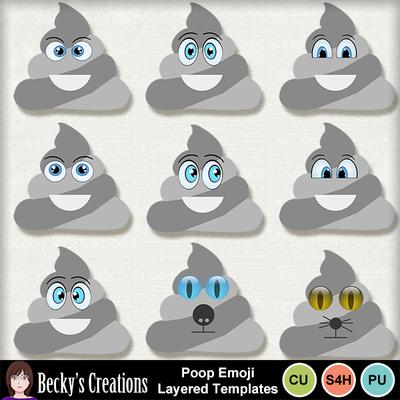 Poop_emoji_templates