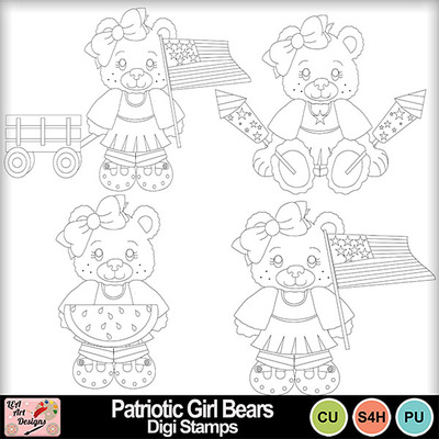 Patriotic_girl_bears_digi_stamps_preview