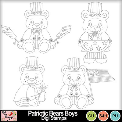 Patriotic_bears_boys_digi_stamps_preview
