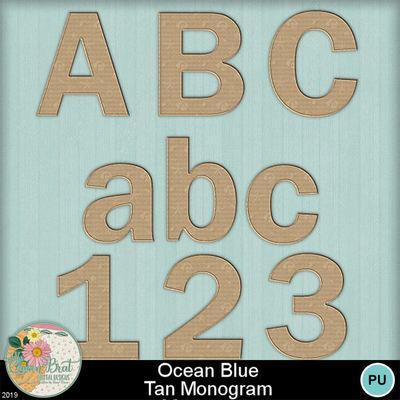 Oceanblue_tanmonogram