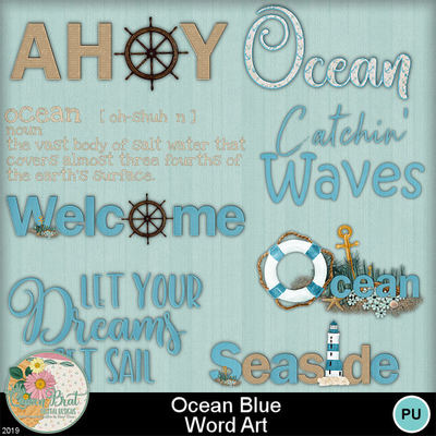 Oceanblue_wordart