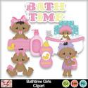 Bathtime_gilrs_clipart_small