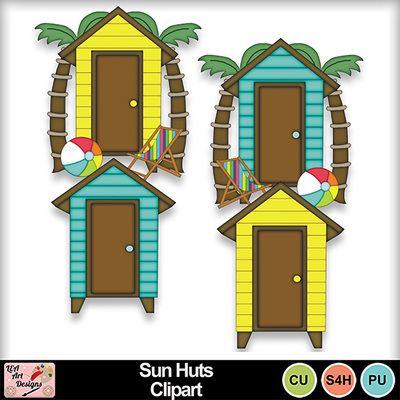 Sun_huts_clipart_preview