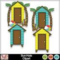 Sun_huts_clipart_preview_small