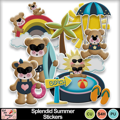 Splendid_summer_stickers_preview
