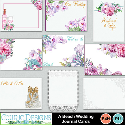 A-beach-wedding-journal-cards