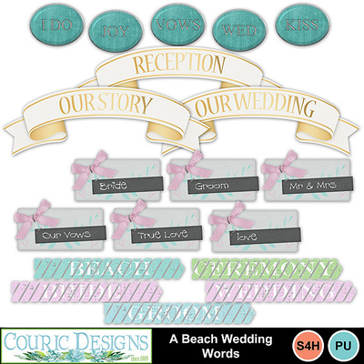 A-beach-wedding-words