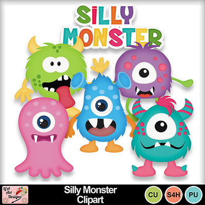 Silly_monster_clipart_preview