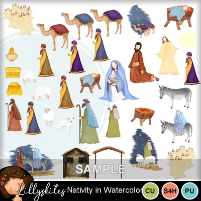 Nativity_in_watercolor2