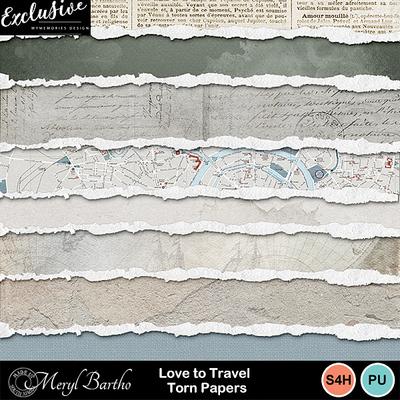 Lovetotravel_tornpapers