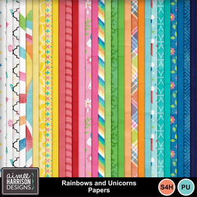 Aimeeh_rainbowsunicorns_papers