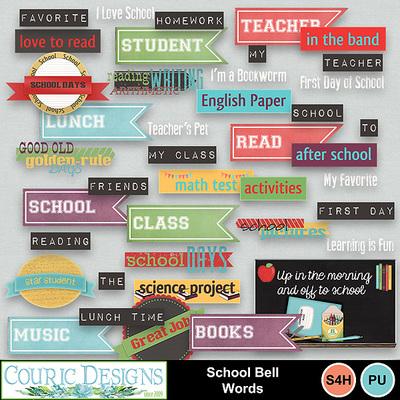 School-bell-words