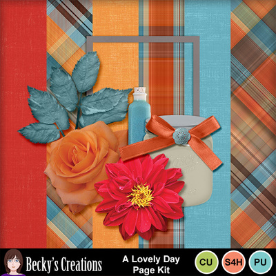 A_lovely_day_page_kit