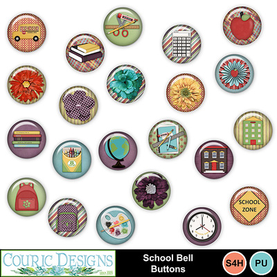 School-bell-buttons