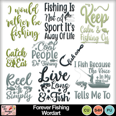 Forever_fishing_wordart_preview