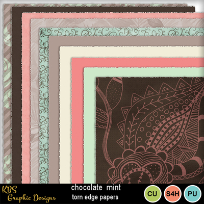 Chocolate_mint_torn_edge_papers_preview_600_