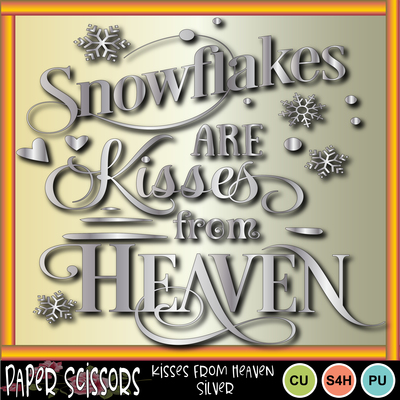 Kissesfromheavensilver