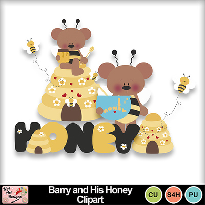 Barry_and_his_honey_clipart_preview
