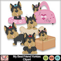 My_best_friend_yorkies_clipart_preview_small