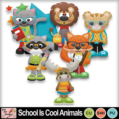 School_is_cool_animals_preview