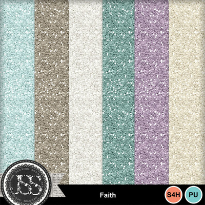 Faith_glitter_papers
