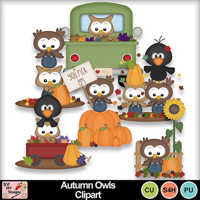 Autumn_owls_clipart_preview