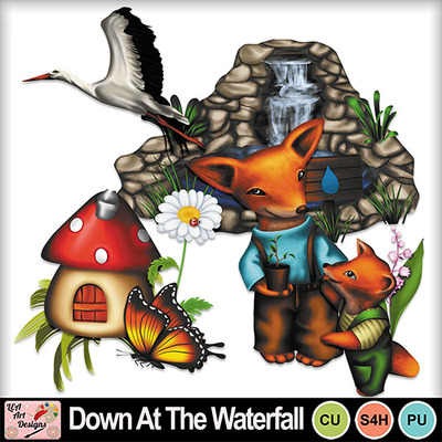 Down_at_the_waterfall_preview