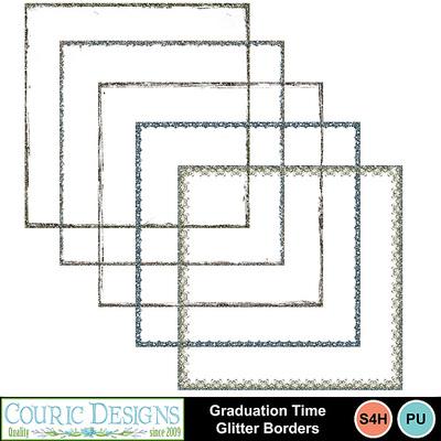 Graduation-time-glitter-borders