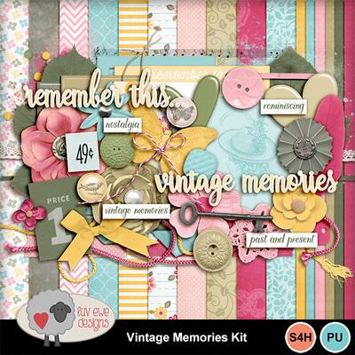 Vintagememorieskit