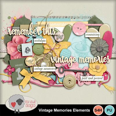 Vintagememorieselements