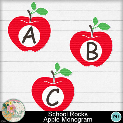 Schoolrocks_applemonogram