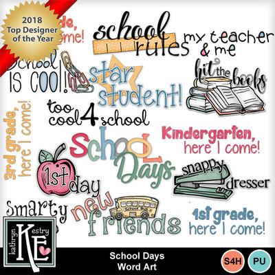Schooldayswordart1