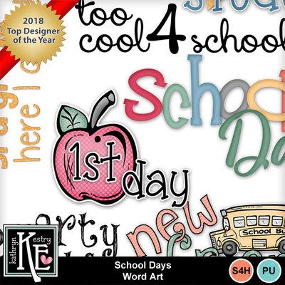 Schooldayswordart4