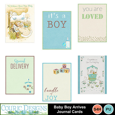 Baby-boy-arrives-journal-cards
