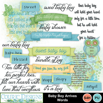 Baby-boy-arrives-words