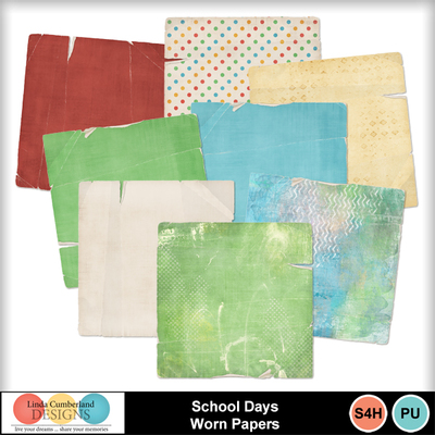 School_days_worn_papers-1