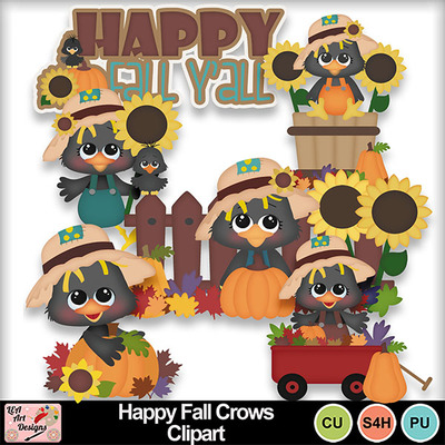 Happy_fall_crows_clipart_preview