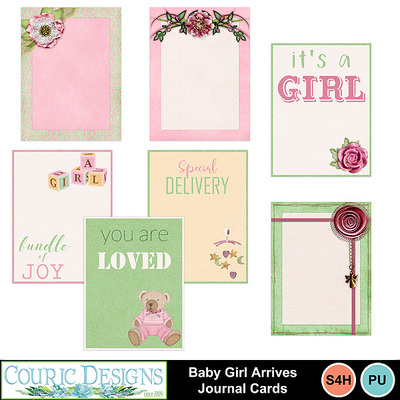 Baby-girl-arrives-cards