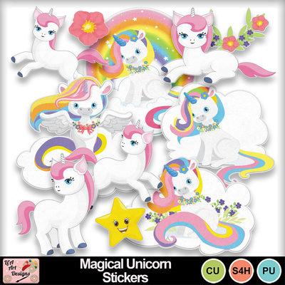 Magical_unicorn_stickers_preview