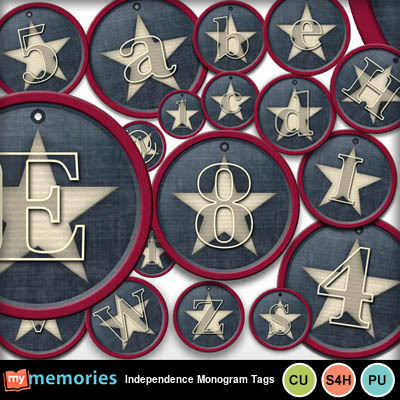 Independence_monogram_tags
