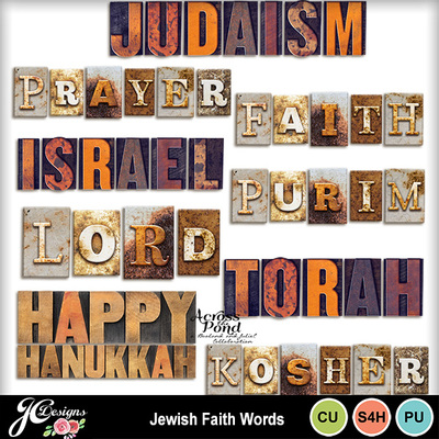 Jewish-faith-words